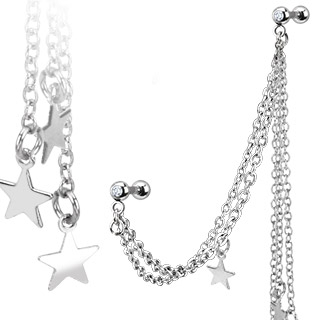 chain-linked-tragus-earring-star